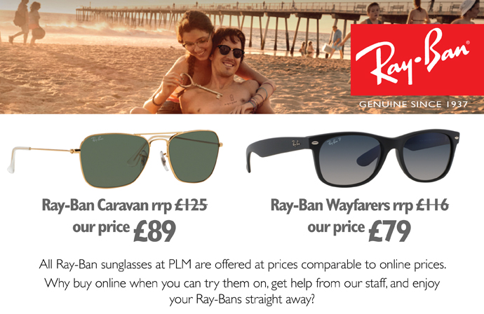 ray ban offer